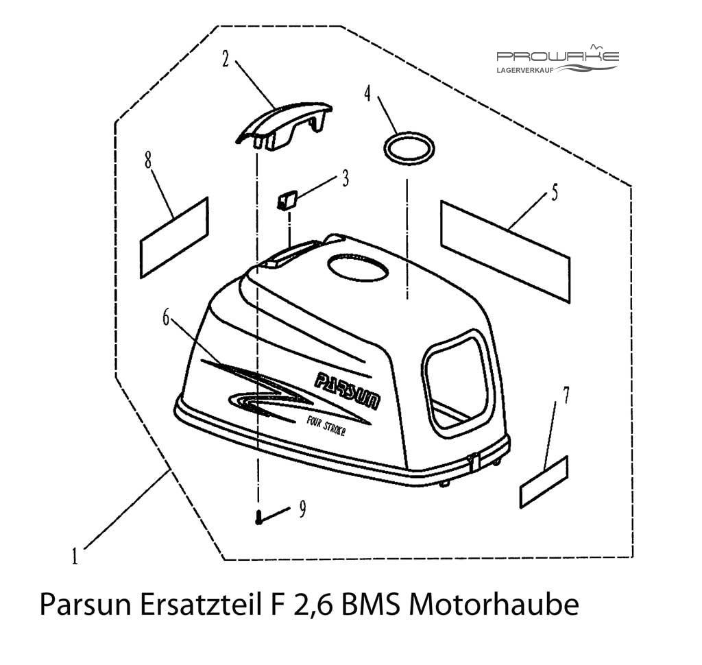 Lagerverkauf: Parsun Außenborder Ersatzteile günstig kaufen, 68,99 €