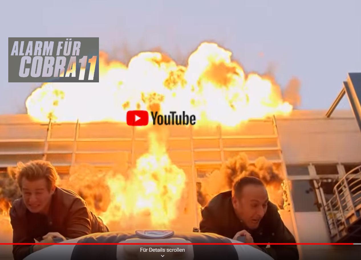 PROWAKE Schlauchboote in Fernseh-Serie Alarm für Cobra11