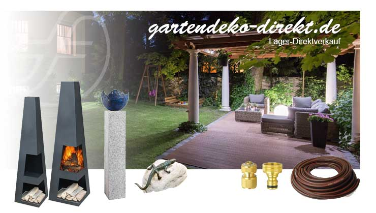 Gartendeko und Gartentechnik