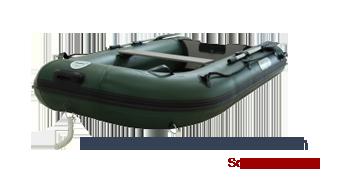 Schauchboote mit Holzboden