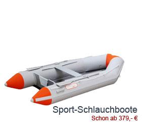 Sport und Freizeit Schlauchboote