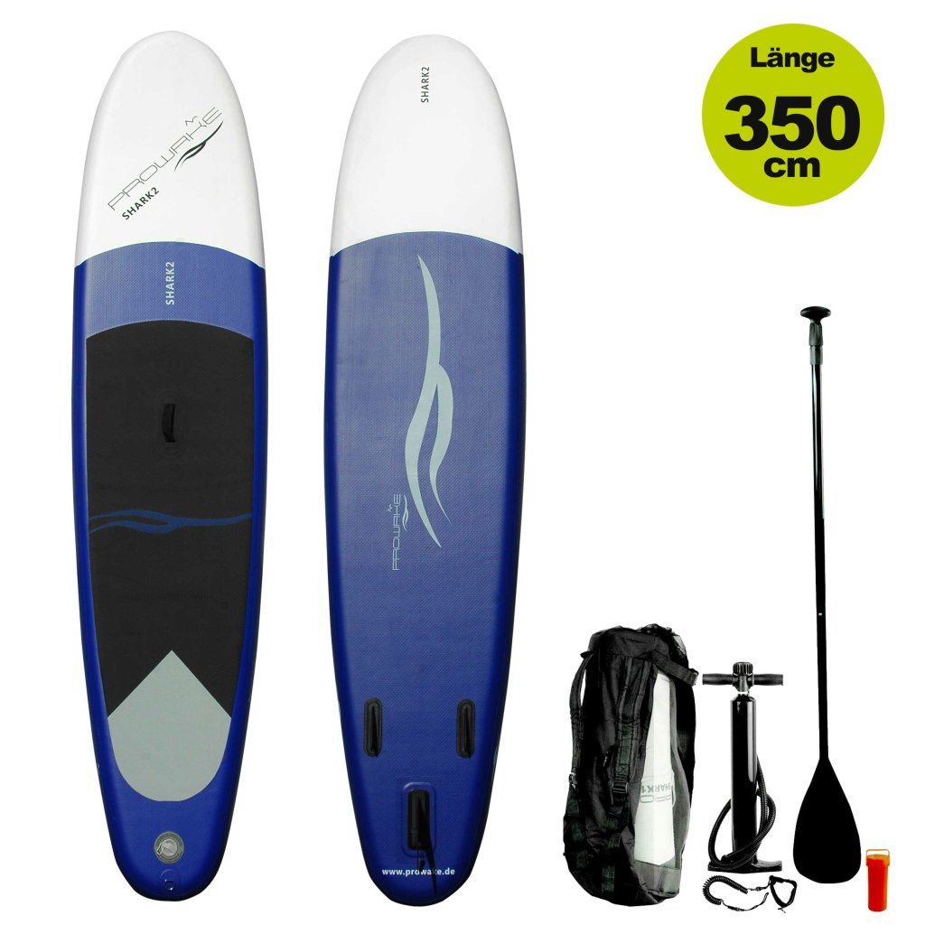 lagerverkauf isup shark2 prowake stand up paddle board 305 cm inflatable 349 00. Black Bedroom Furniture Sets. Home Design Ideas