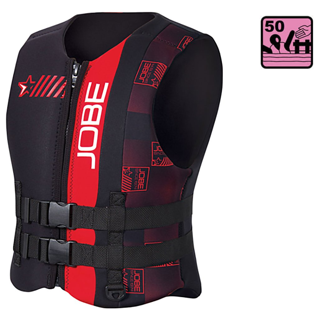 Schwimmweste:  Jobe Progress Neoprenweste gr. XL, 50 Newton -